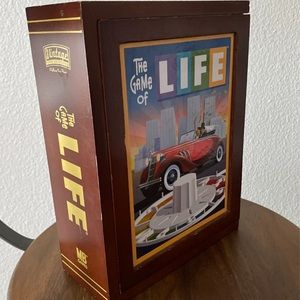 Vintage Wooden Box The Game of Life
